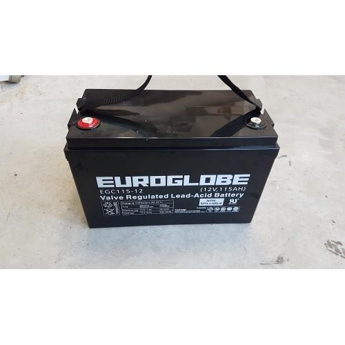 AGM Batteri 12v 115AH