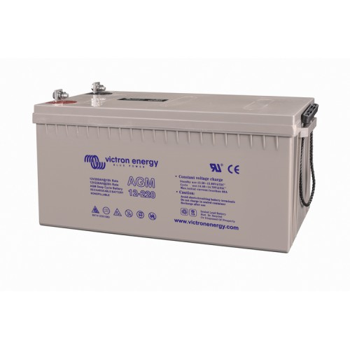 AGM batteri 12v  240AH deep cycle victron energy